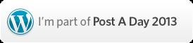 postaday 2013 - long