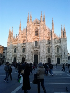The Duomo of Milan in January 2012