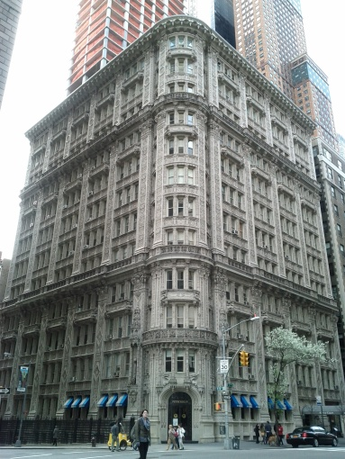 A beautiful building in NYC (March 2012)