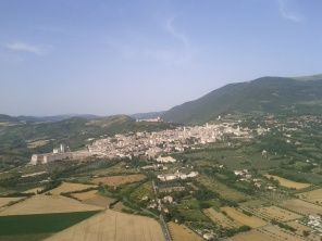 Umbria from above (June 2012)