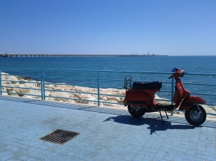 Ocean scene in Italy (August 2012)