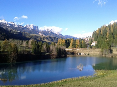 Beautiful scene in Italy (November 2012)