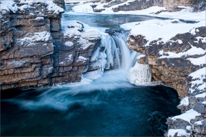 Landscape view of Elbow Falls. Photo courtesy of Christopher Martin.