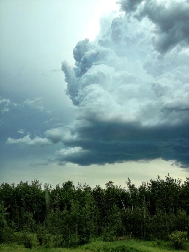 Prairie storm, Canada