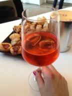 If I'm lucky, I'll have an aperitivo, a pre-dinner drink & snack, with friends.