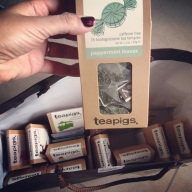 Surprise tea shipment from an awesome colleague! Yeah.