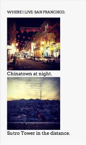 Instagram in sidebar