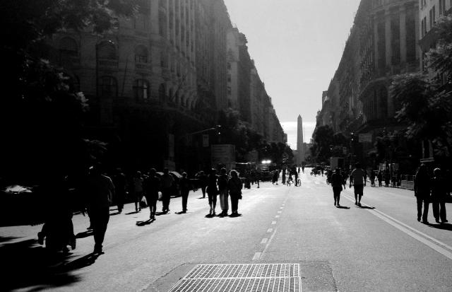 The Obelisco de Buenos Aires