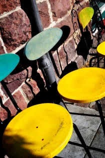 Chairs in Sonoma, California