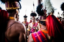 From the Hornbill Festival in Nagaland, India