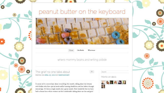 Peanut Butter on the Keyboard