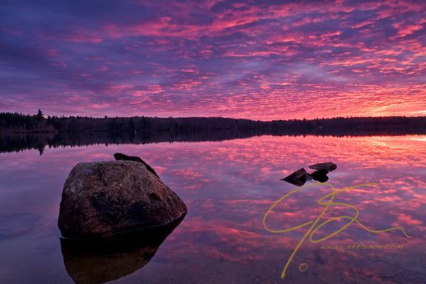 baxter-lake-sunrise-with-boulder-and-reflection-0301-M