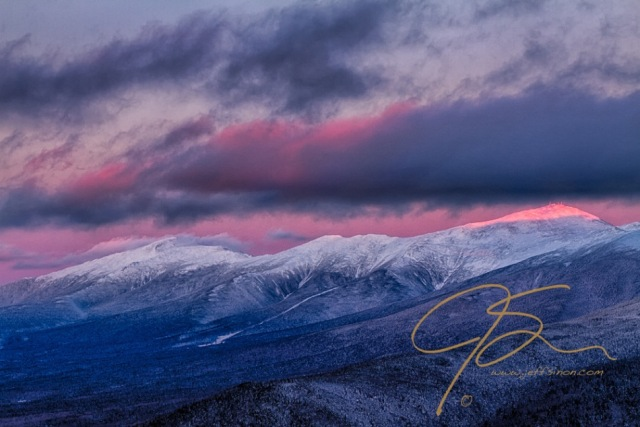 Alpenglow of Mt. Washington