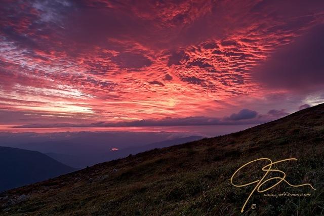 Sunrise at Mt. Washington