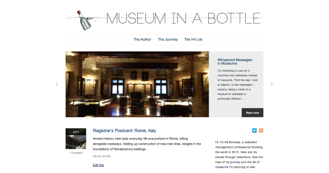 Museum in a Bottle
