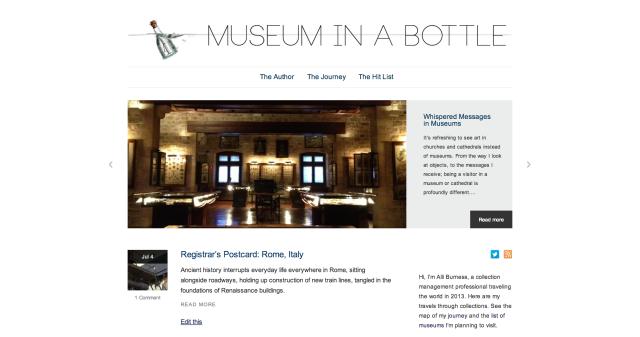 Museum in a Bottle