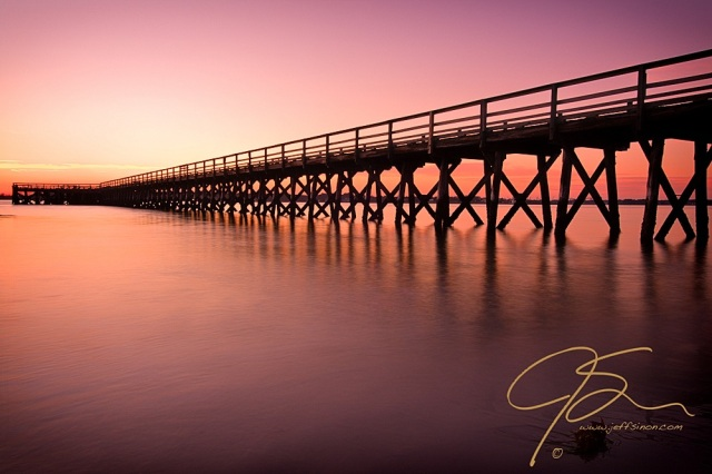 Image of Fort Foster Pier by Jeff Sinon