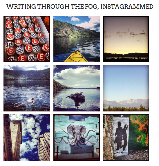 how to start a personal blog on instagram