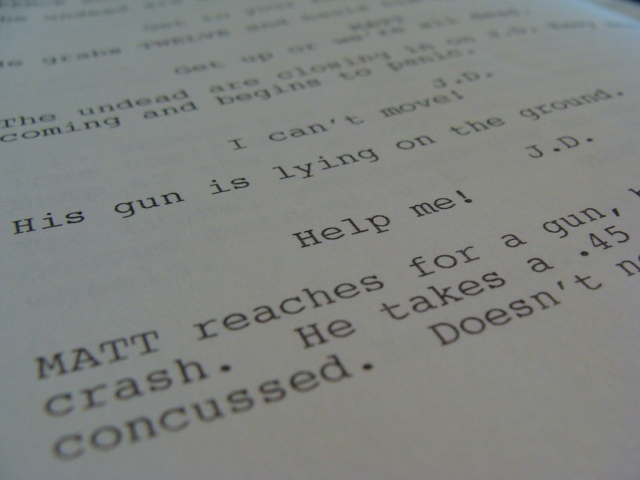 Script by Victor Gregory. (CC by 2.0.)