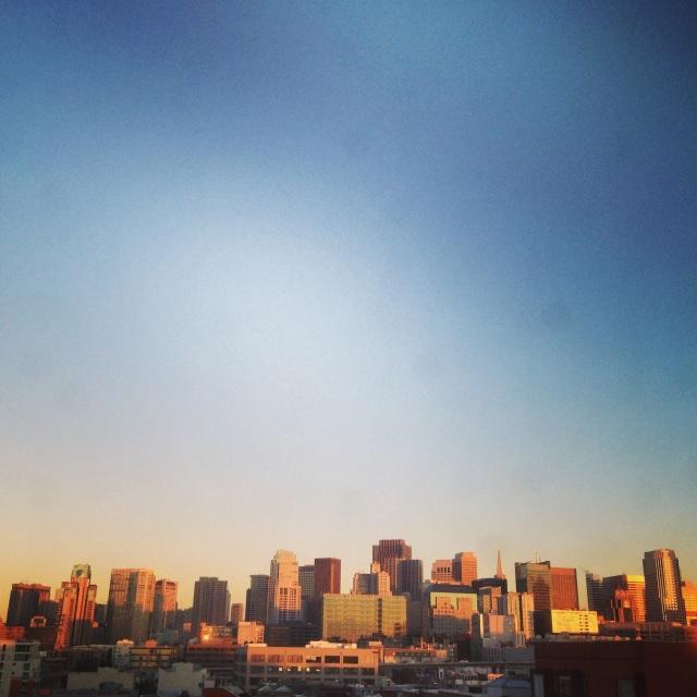 San Francisco Horizon by Sara Rosso