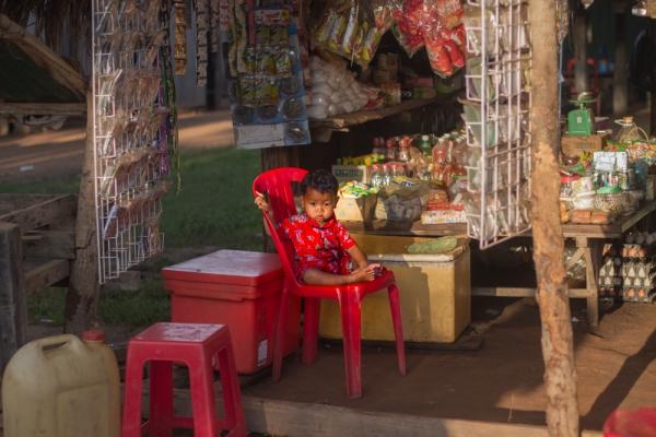 young Cambodia boy
