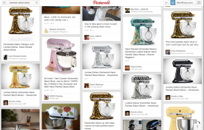 Need inspiration for your stand mixer's next custom paint job? Pinterest to the rescue!