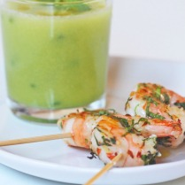 shrimp & gazpacho