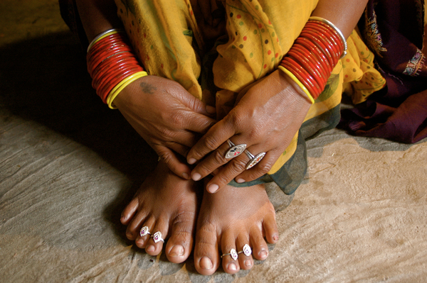 Hands and Feet, India.