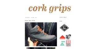 Cork Grips, using custom CSS on the Pilcrow theme for font, color, link, sidebar, and other changes