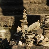 a tiny stupa