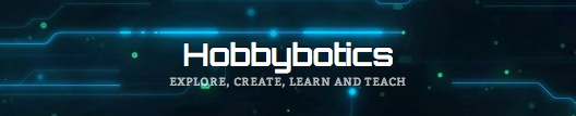 http://hobbybotics.com/ chose a font, site title, and header background image that all fit the content you'll find on their site.