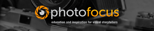 http://photofocus.com/ chose a background image, logo, site title, and color palette all fitting of their content.