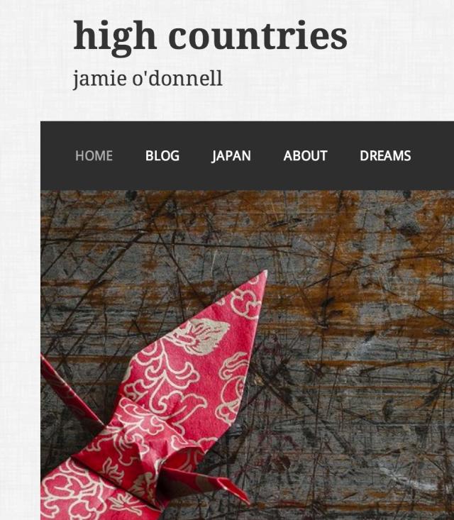 high countries custom menu