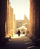 Temple in the Valley of the Kings, Luxor, Egypt