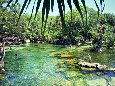 Cenote Azul, Mayan Riviera, Mexico