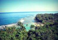 An island paradise.