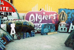 A junkyard of interesting items.