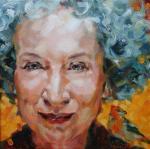 Margaret Atwood by Oksana Zhelisko