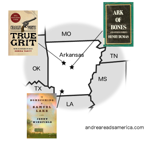Map courtesy of Andrea Reads America