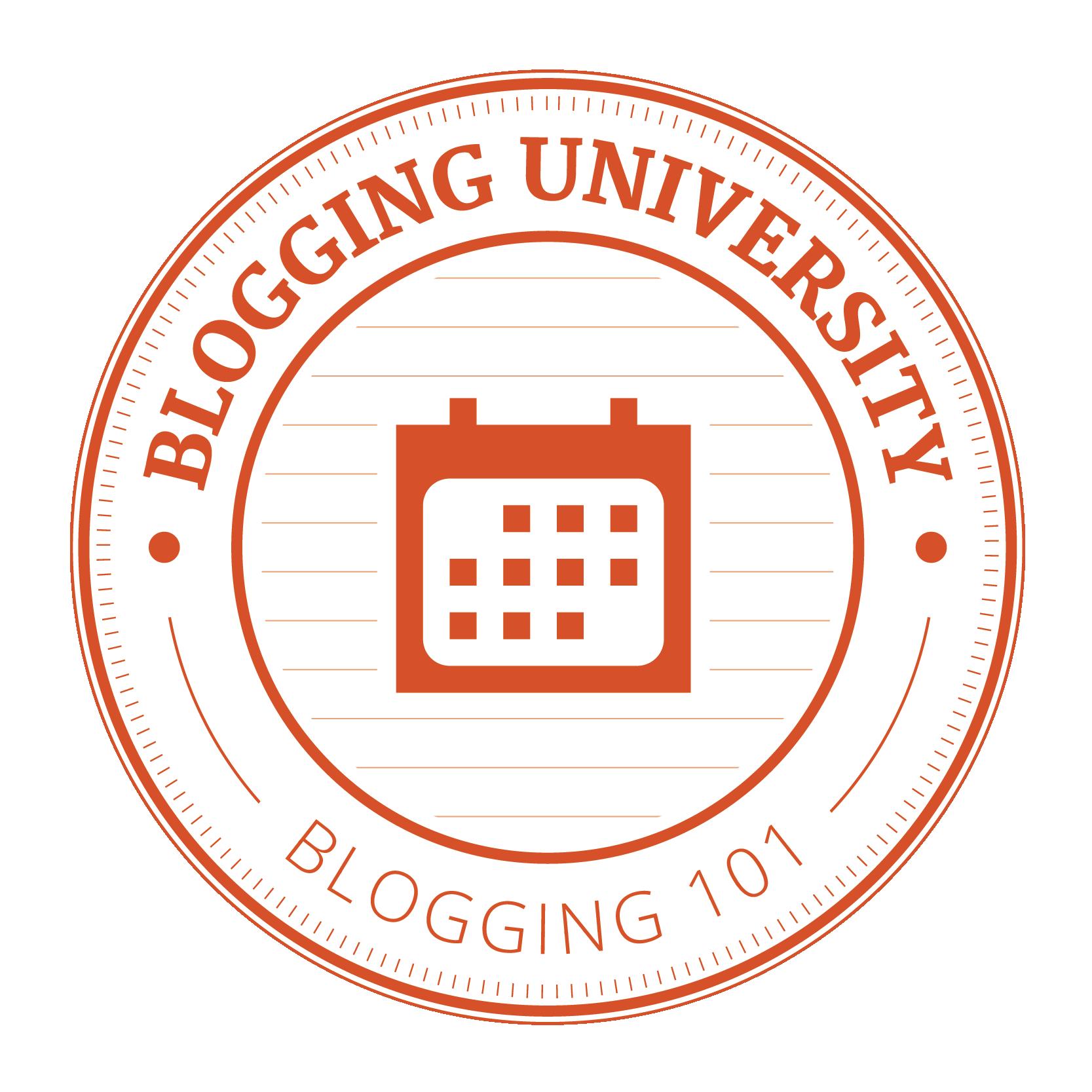 Blogging 101 Participant