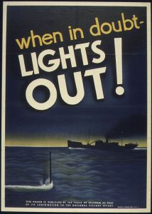 Wise words from American World War II propagandists. (Image in the public domain.)