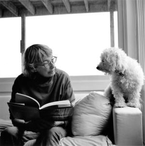Mary Oliver and Percy Photo © 2005 by Rachel Giese Brown.