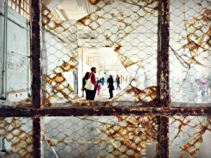 Photo at Alcatraz by Cheri Lucas Rowlands.