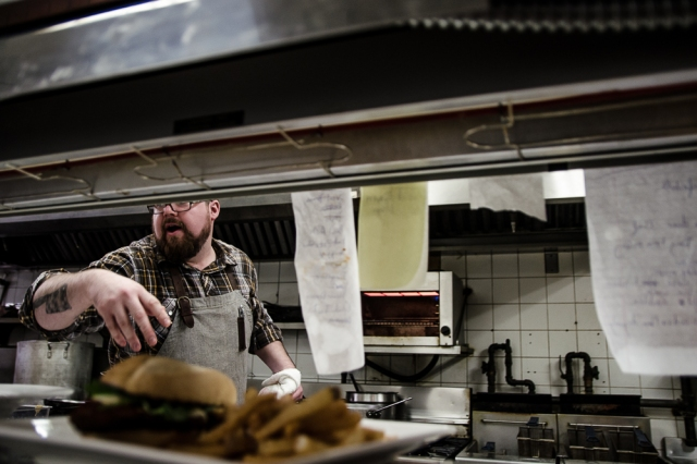 Chef Paul Dubeau. Photo by Shane Francescut. All rights reserved.