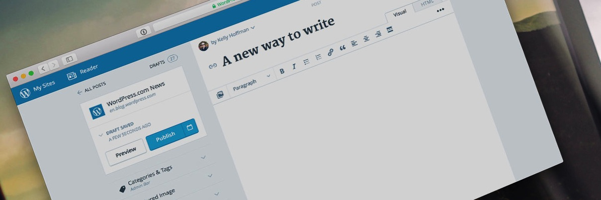The WordPress.com Editor: Five Quick Tips