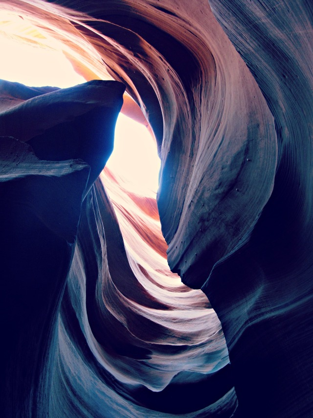 Photo of Antelope Canyon in Arizona by Cheri Lucas Rowlands.