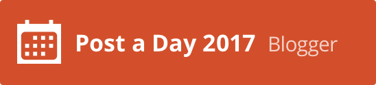I'm part of Post A Day 2017