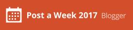 Formo parte de Post A Week 2017