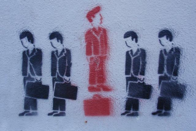 Salarymen, by Tom Hilton (CC BY 2.0)