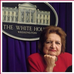 Question-wise, aim for somewhere between Helen Thomas and Clarence Thomas. (Photo by LCBGlenn, CC-BY-2.0.)
